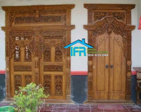 Pintu Gebyok Mewah