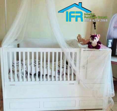 set tempat tidur anak box bayi
