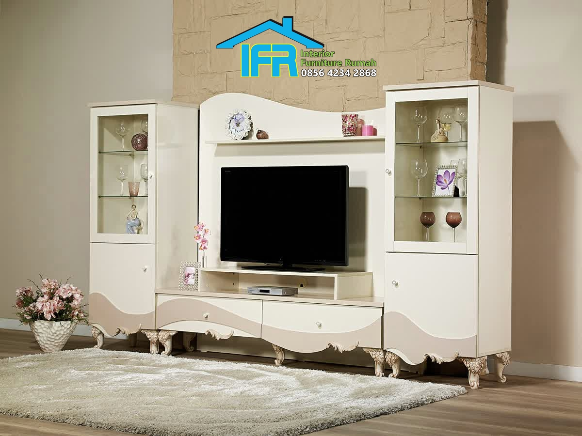 bufet tv minimalis model terbaru