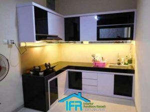 kitchen set minimalis finishing duko