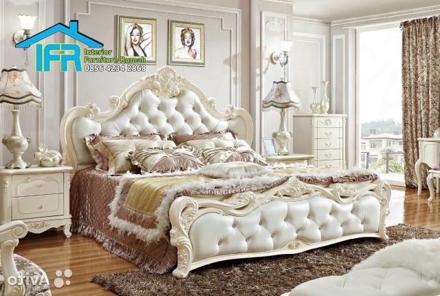 set tempat tidur mewah jepara