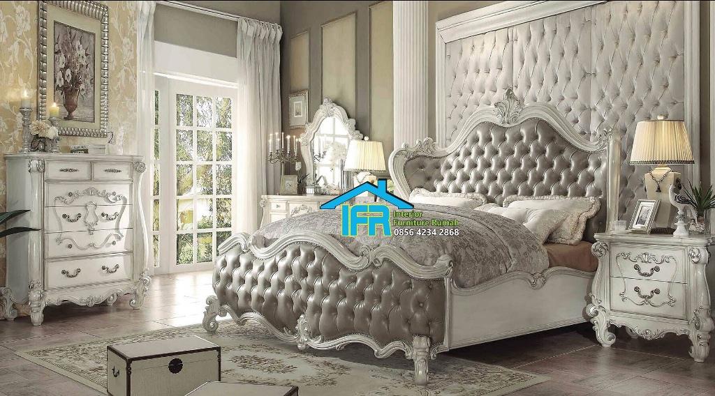 model set tempat tidur mewah