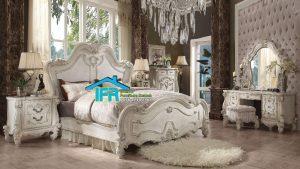 set tempat tidur ukiran baroque