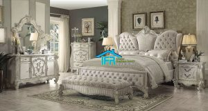 set kamar tidur ukiran klasik