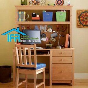 set meja belajar anak mewah model terbaru