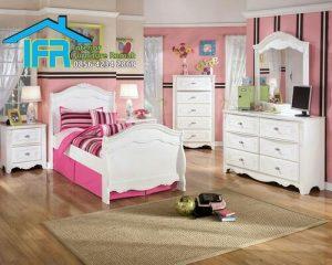 set tempat tidur anak mewah jepara