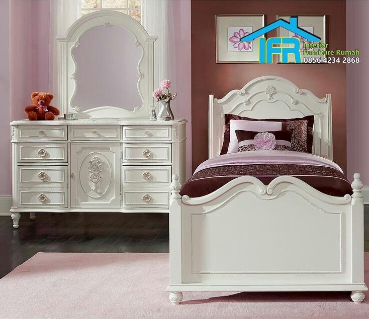 set tempat tidur anak model terbaru