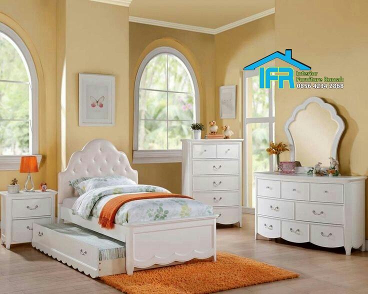 model set tempat tidur anak modern