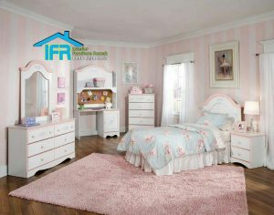 set kamar tidur anak modern mewah
