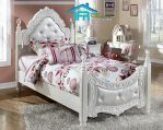 set tempat tidur anak ukiran baroque