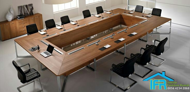 set meja pertemuan kantor mewah terbaru
