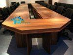 set meja kantor rapat pimpinan mewah