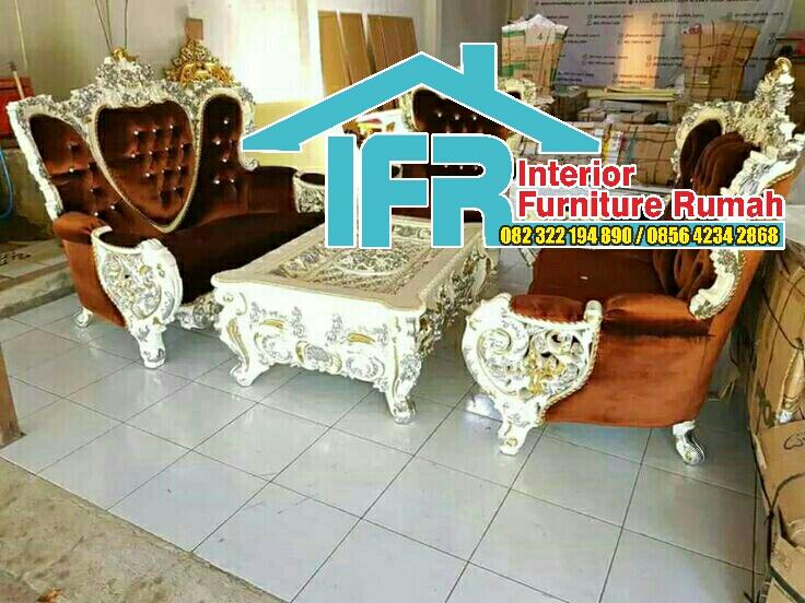 Kursi Tamu Sofa Modern Jepara