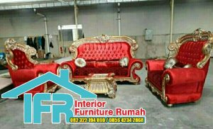Jual Produk Kursi Tamu Sofa Mewah Ukir