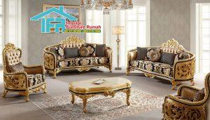 Kursi Sofa Tamu Imperial Golden