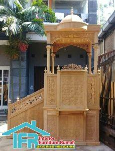 Mimbar Masjid Agung Kota