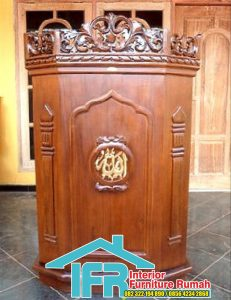 Mimbar Masjid Jati Natural