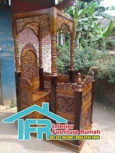 Mimbar Podium Masjid