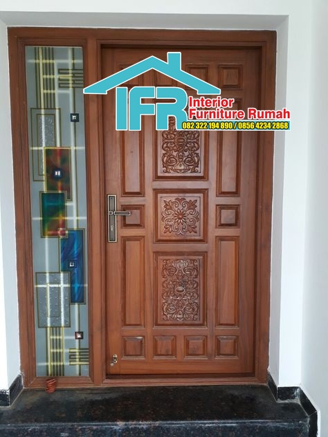 Pintu Ukir Model Klasik