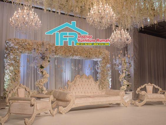 gebyok dekorasi pengantin
