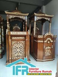 Mimbar Masjid Kubah Emas