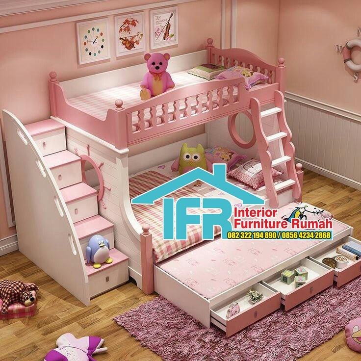 Harga Kamar Tidur Anak Perempuan Minimalis 2020