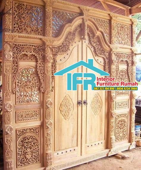 Desain Pintu Gemyok Bali
