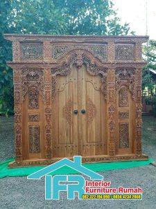 Pintu Gebyok Bali Terbaru