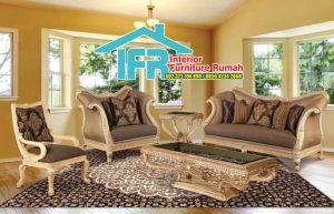 Set Kursi Tamu Sofa Klasik Murah