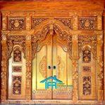 Pintu gebyok rumah