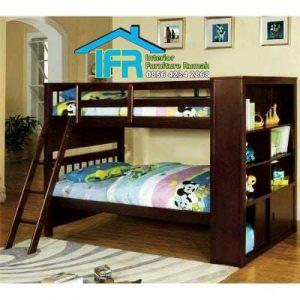 jual set tempat tidur anak tingkat jati jepara