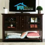 model bufet tv minimalis