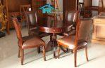 set kursi makan jati jepara
