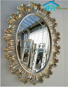 pigura cermin kaca model terbaru