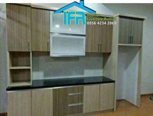 1 set lemari dapur minimalis