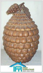 souvenir tempat permen model buah jepara