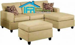 set kursi sofa tamu sudut modern