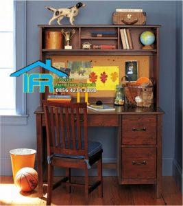 set meja belajar anak mewah minimalis