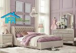 set dipan tempat tidur minimalis mewah