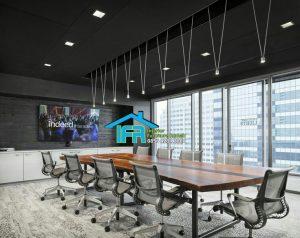 set meja kantor modern mewah