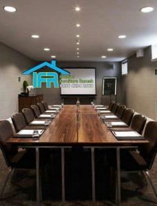 set meja kantor ruang meeting