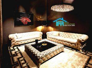 kursi sofa tamu mewah modern