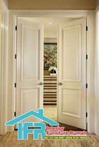 Pintu Rumah Cat Duco
