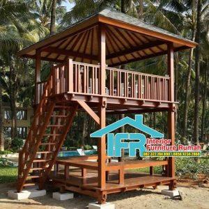 Rumah Panggung Glugu Taman